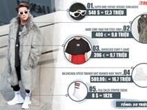 Trang phục của Sơn Tùng M-TP tại Seoul Fashion Week giá bao nhiêu?