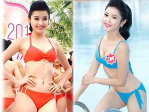 """""""Bỏng mắt"""" ngắm Á hậu Huyền My mặc bikini đi thi sắc đẹp quốc tế"""