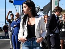 Georgina Rodriguez nổi bật trong ngày ra mắt sân bay mang tên Ronaldo