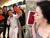 Loạt sao Việt sở hữu những chiếc iPhone đỏ thời thượng đầu tiên ở Việt Nam