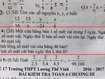 Bài toán hóc búa, người lớn đau đầu chưa giải nổi