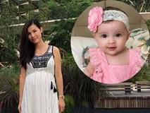Mẹ bé Việt 5 tháng gây sốt vì quá đẹp tiết lộ chiêu uống trà gạo đẻ con thiên thần