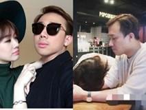 Hari Won ngủ gục, tình yêu không thể xóa tan cái mệt