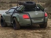 Hình ảnh siêu xe Bentley off-road gây chú ý