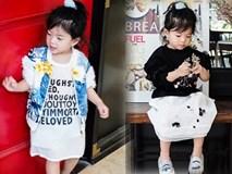 """Bé Ella: cô nhóc 2 tuổi với phong cách """"đẹp miễn bàn"""" nhờ diện đồ mẹ tự thiết kế"""