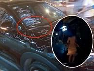 Cô gái vẽ chi chít lên xe Hyundai Tucson vì đỗ trước cửa nhà