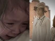 Cadie Mộc Trà khóc không ngừng khi xem phim 'Mẹ' của Elly Trần