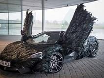 Siêu xe McLaren 570GT thân phủ lông vũ