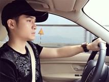 Dân mạng tìm kiếm 'soái ca áo đen' vừa hát vừa lái xe