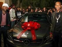 Con trai Mayweather nhận xe sang, ném tiền ở sinh nhật tuổi 16