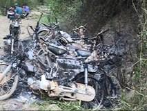 Triệu các đối tượng nghi vấn đốt 9 xe máy của bảo vệ rừng