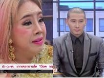 Nữ đại gia Thái Lan bị chồng thứ 9 tung tin đồn mắc bệnh AIDS, suýt đánh chồng cũ trên sóng truyền hình