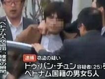 Nhật tiết lộ tên người cầm đầu nhóm du HS Việt chuyên trộm cắp
