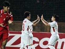 ĐT nữ Việt Nam ghi tới 11 bàn vào lưới Syria