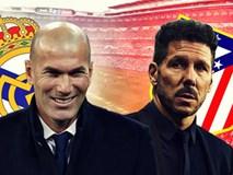 So sánh vũ khí của Zidane và Simeone trước thềm derby Madrid
