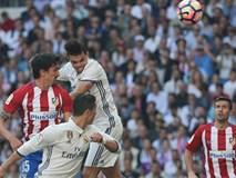 Griezmann cứu Atletico thoát thua trước Real