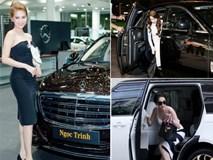 Xem bộ sưu tập siêu xe để thấy Ngọc Trinh giàu cỡ nào!
