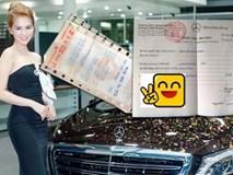 """Ngọc Trinh lên tiếng về """"nghi án"""" quảng cáo xe siêu sang 12 tỷ"""
