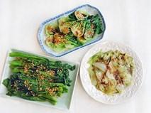 3 tuyệt chiêu chế biến để món rau xanh mướt mát, thơm ngon như nhà hàng