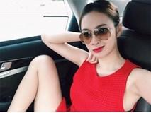 Lộ loạt ảnh hớ hênh chốn đông người của Angela Phương Trinh