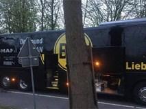 Xe bus chở đội Dortmund phát nổ, hậu vệ Bartra nhập viện