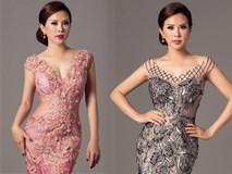 Hoa hậu Thu Hoài khoe đường cong đẹp từng centimet
