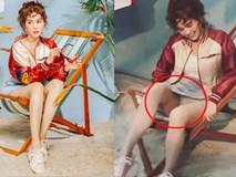 Sự thật phía sau màn 'lộ nội y' trong clip hậu trường của Ngọc Trinh