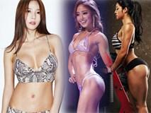 """Bộ ba """"nữ thần phòng gym"""" xứ Hàn khiến mày râu chao đảo"""