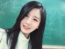 Cô giáo xinh quá đi, bảo sao cứ bị nhầm là hot girl!