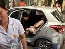Một sản phụ sinh con trên xe, chồng cầu cứu CSGT giúp đỡ