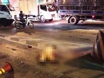 Tài xế xe vi phạm tông Thiếu tá CSGT tử vong đến công an trình diện