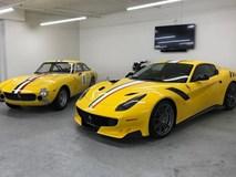 Ferrari F12tdf độc nhất của nhà sưu tập Ferrari