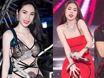 'Thót tim' với loạt váy áo xẻ ngực, lộ nội y táo bạo của Thủy Tiên