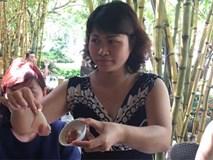 Thịt cho bữa trưa của HS Đoàn Thị Điểm Ecopark 'mỏng như giấy'