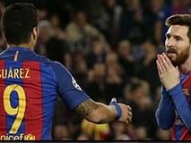MSN bất lực, Barca dừng chân tại tứ kết Champions League