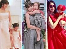 Ngất ngây với loạt đồ đôi siêu đáng yêu của mẹ con Minh Hà và Cherry