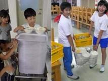 Một bữa trưa đạm bạc của trẻ em Nhật sẽ khiến nhiều người phải cảm thấy hổ thẹn