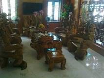 Bộ bàn ghế ngàn tuổi giá chục tỷ được đại gia Việt săn lùng