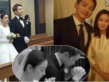 Fans 'dậy sóng' với ảnh tiệc cưới lần đầu được công bố của Kim Tae Hee và Rain