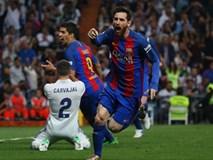 Messi đánh sập Bernabeu, Barca tái chiếm ngôi đầu