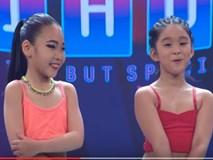 """Biệt tài tí hon: """"Đứng hình"""" trước hai cô bé 7 tuổi """"quẩy"""" với hit Thu Minh"""