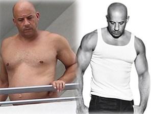 """Ảnh quá khứ béo phệ, lộ bụng mỡ của """"Dom"""" - nam chính Fast & Furious bị """"đào mộ"""""""