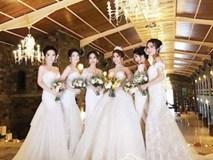 Lâm Chi Khanh chụp ảnh cưới nhưng dàn phù dâu 'cướp' hết sự chú ý