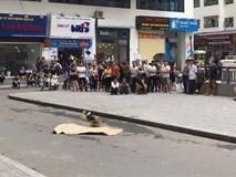 Danh tính người phụ nữ rơi từ tòa nhà chung cư Linh Đàm xuống đất