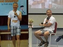 ĐH Hoa Sen giải trình về hiệu phó mặc quần đùi dạy học