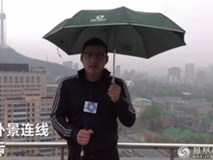 MC bị sét đánh khi dẫn trực tiếp ngoài trời mưa