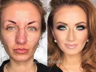 """Những màn makeup """"thành thần"""" khiến dân tình hoang mang tột độ không biết tin vào đâu"""