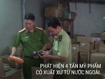 Tịch thu 4 tấn mỹ phẩm nhập lậu