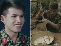 Chết cười xem Quốc Thiên 'nấu cơm thành cháo lợn' trong quân ngũ