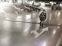 Nữ tài xế chết thảm sau khi đâm sập tường văn phòng làm việc cùng tầng bãi đỗ xe